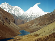 Jomolhari suite of peaks